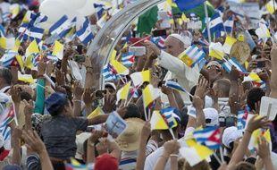 Le Pape François, à La Havane, à Cuba, le 20 septembre 2015.