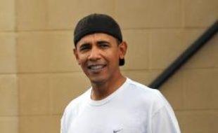 Barack Obama est un homme cool. En tout cas quand il part faire son jogging, comme ici le 27 décembre 2008 à Hawaï.
