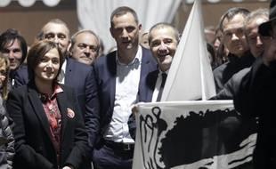 Les principaux responsables de la liste Pè a Corsica.