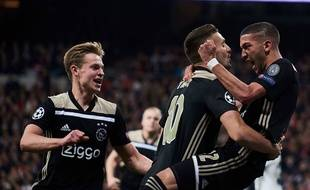 Les joueurs de l'Ajax ont réalisé l'exploit d'une vie à Madrid.