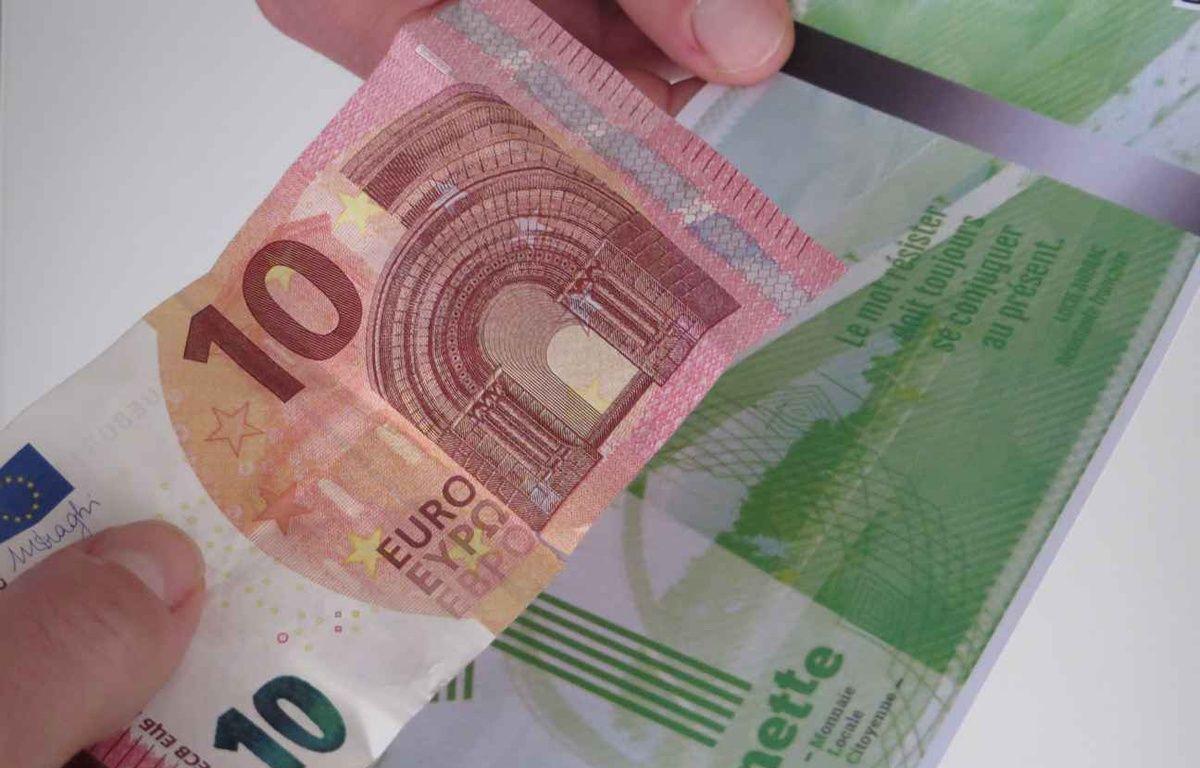 Depuis le 7 février 2015, on peut échanger un euro contre une gonette à Lyon. – C. Girardon / 20 Minutes