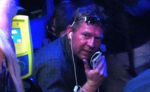 L'un des passagers du bus, dans lequel une Française a été victime de propos xénophobes en Australie, le 11 novembre 2012