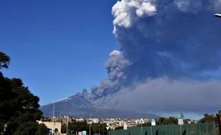 L'Etna photographié le 24 décembre 2018.