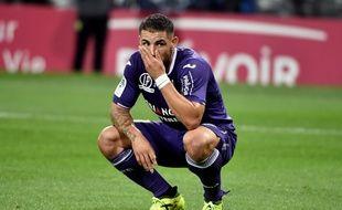 Samedi contre Bordeaux, l'avant-centre du TFC Andy Delort est resté muet pour le cinquième match d'affilée.