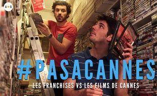 Image extraite de l'épisode 3 de la web série #PasACannes
