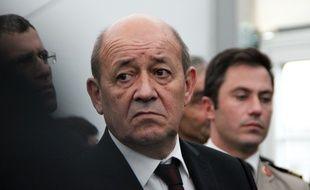 Jean-Yves Le Drian, ici à Rennes en décembre 2014.