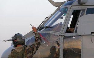Photo d'illustration d'hélicoptère de l'armée française.