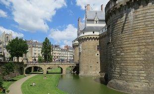 Nantes, le 7 septembre 2014: le château des ducs de Bretagne.