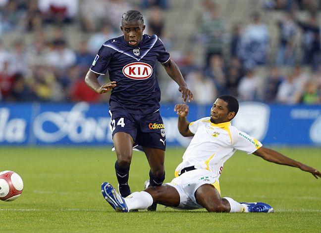 Rio Mavuba a joué plus de 150 matchs sous le maillot des Girondins de Bordeaux.