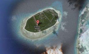 L'île d'Arros, qui fait partie du groupe des Amirantes aux Seychelles.