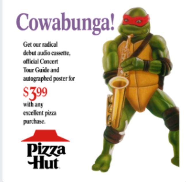 Une tortue Ninja sur ton Facebook.