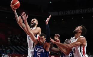 Le basketteur français Evan Fournier