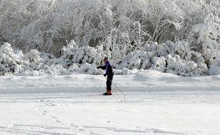 Illustration. Ski dans les Vosges. Le 16 12 2007