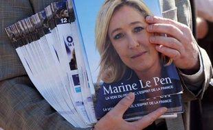 Marine Le Pen, qui sera en meeting vendredi soir à Nice, affiche l'intention de faire mentir les sondages qui lui donnent actuellement peu de chances d'être au second tour au soir du 22 avril, son objectif initial dans cette campagne présidentielle.