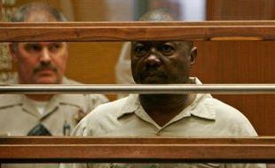 Lonnie Franklin Jr, accusé du meurtre de dix femmes sur plusieurs décennies, le 8 juillet 2010 à Los Angeles