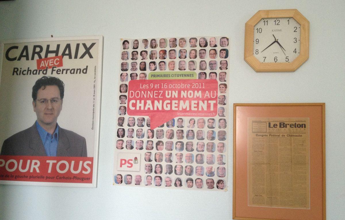 La section locale du Parti socialiste, à Carhaix (Finistère). – L. Cometti / 20 Minutes