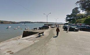 Le petit port de Nevez dans le sud du Finistère.