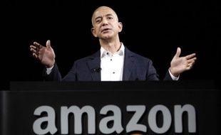 Le PDG et fondateur d'Amazon, Jeff Bezos, le 6 septembre 2012.