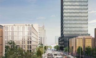 Les travaux d'aménagement aux abords de la gare de la Part-Dieu, vont au moins durer jusqu'à la fin de l'année 2019.
