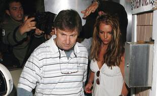 Jamie Spears et sa fille, Britney Spears, en 2008