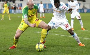 Nicolas Pallois face à l'OM la saison dernière.