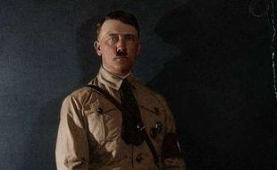 Le portrait d'Adolf Hitler, colorisé par l'artiste danois Mads Madsen.