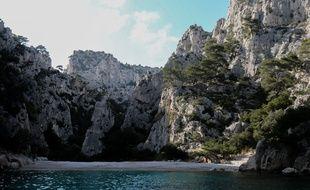 Le Parc national des Calanques à Marseille.