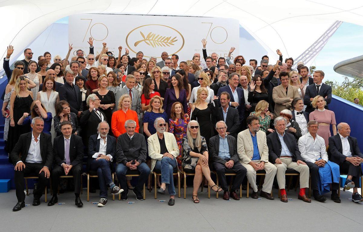 La photo des 70 ans du Festival de Cannes – Valery Hache/ AFP/Festival de Cannes