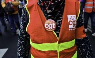 Une manifestation contre la réforme des retraites le 29 janvier 2020, à Rennes. (illustration)