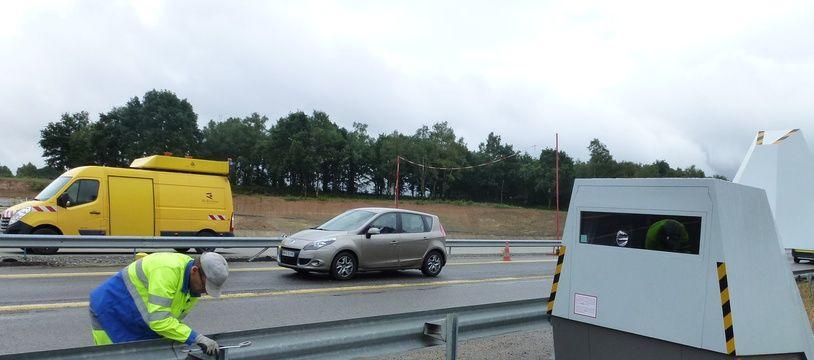 Un radar autonome, ici installé près de Rennes en 2015.