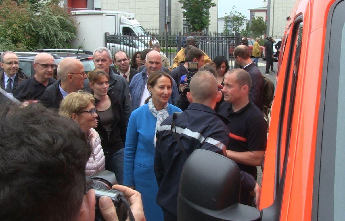 Ségolène Royal en déplacement à Nemours le 1er juin 2016 – Thomas Lemoine