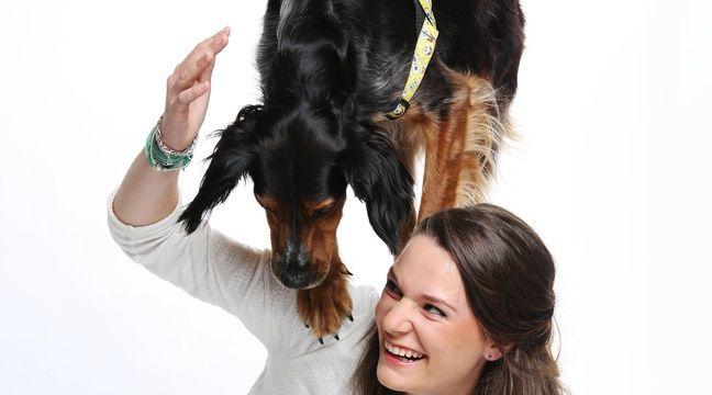 montpellier juliette et son chien charlie adopt la spa en finale de la france a un. Black Bedroom Furniture Sets. Home Design Ideas