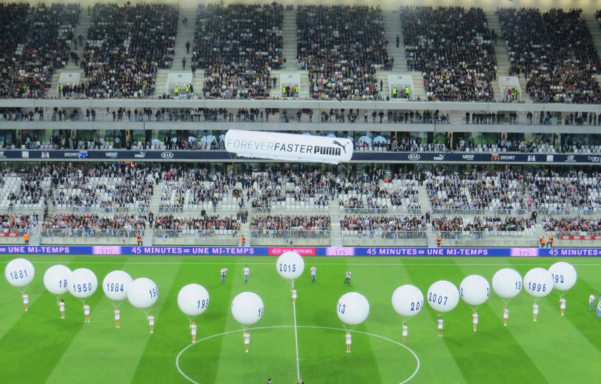 Cérémonie d'ouverture du match d'inauguration au Nouveau stade de Bordeaux – M.Bosredon