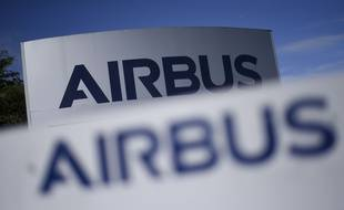 Le logo d'Airbus. Illustration