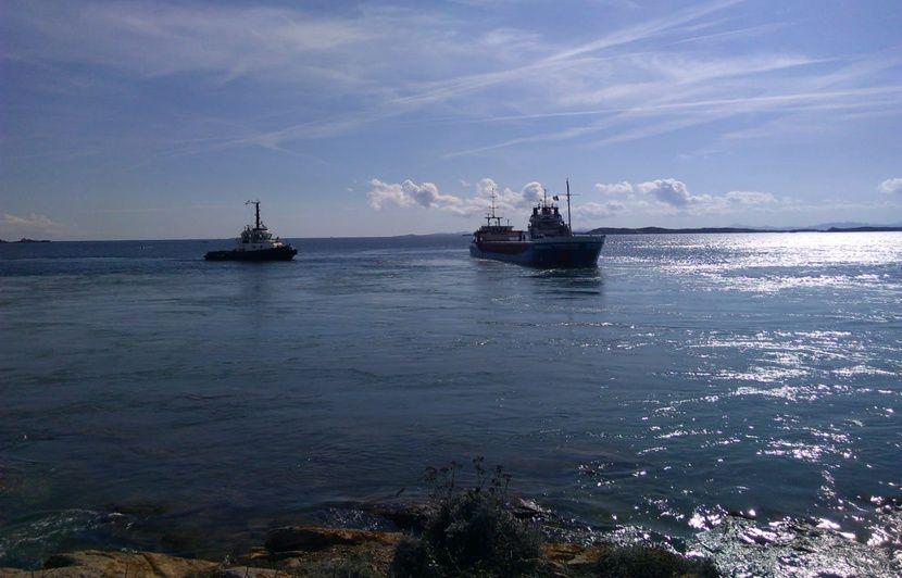 Corse : Le cargo Rhodanus a été déséchoué après une « opération délicate »