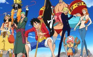 Un dessin « One Piece »