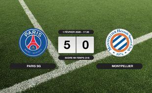PSG - Montpellier: Le PSG se balade sur la pelouse du Parc des Princes face à Montpellier