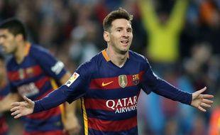 Lionel Messi au Camp Nou le 23 avril 206.