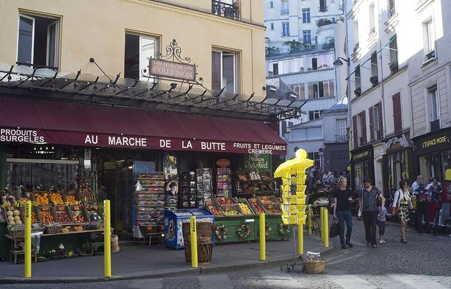 Épicerie à Montmartre - Illustration.