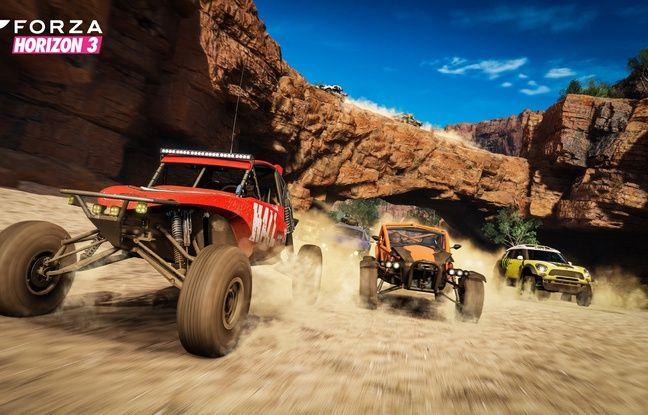 Forza Horizon 3, un jeu de course optimisé autour de fonctions très