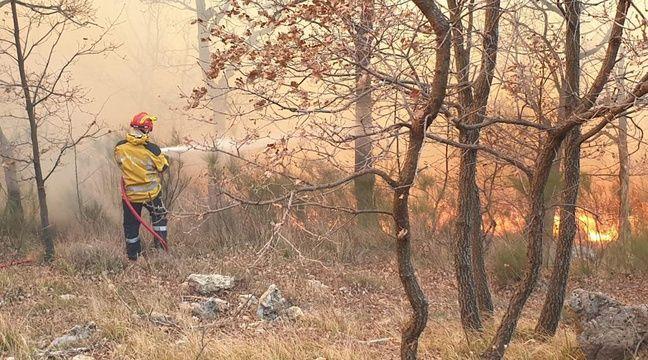 400 hectares menacés par un incendie dans les Alpes-Maritimes