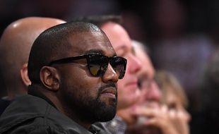 Kanye West à Los Angeles le 13 janvier 2020.