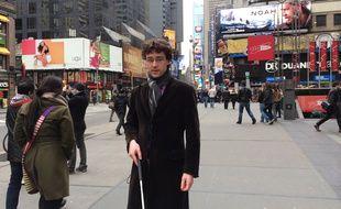 Charles-Edouard Catherine, ici dans les rues de New York.