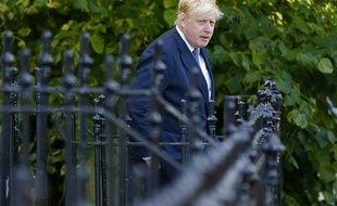 L'un des leaders du camp Brexit, Boris Johnson à Londres, le 28 juin 2016