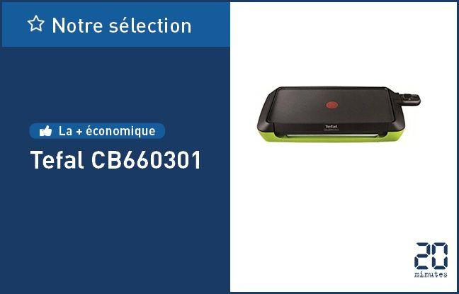 Plancha électrique Tefal CB660301.