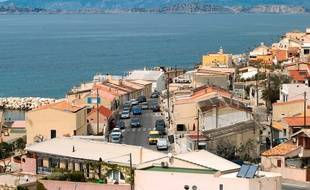 Le port des Goudes à l'extrémité sud de Marseille.