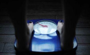 Un pèse-personne. (Illustration)