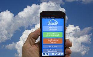 L'application Globe Observer permet d'envoyer les photos de vos nuages à la NASA.