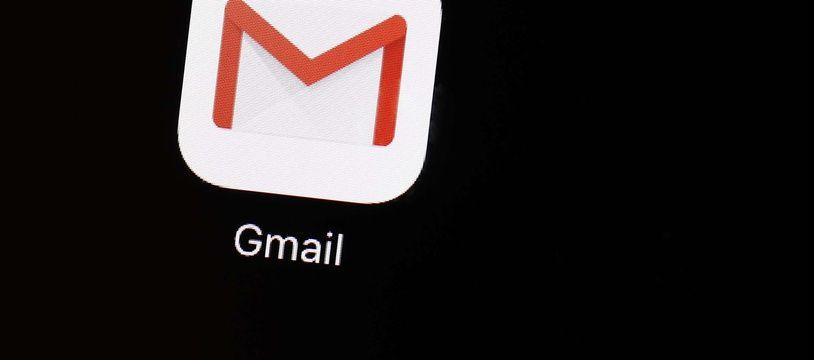 Illustration de la messagerie de Google, Gmail.