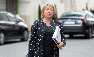 La maire (LR) de Calais, Natacha Bouchart.